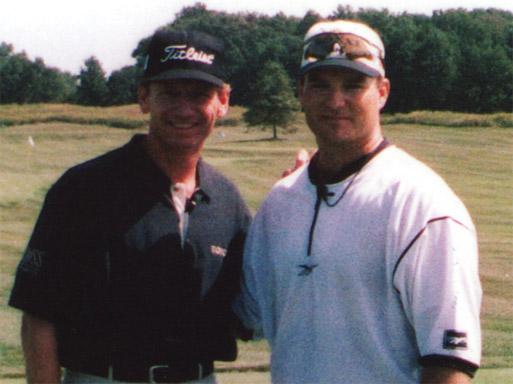"""Brad Faxon (PGA tour player) - """"Tremendous hand-eye coordination and excellent entertainment."""""""